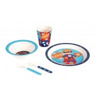 Набор бамбуковой посуды Супергерой