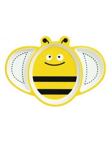 "Бамбуковая тарелка ""Пчёлка"""