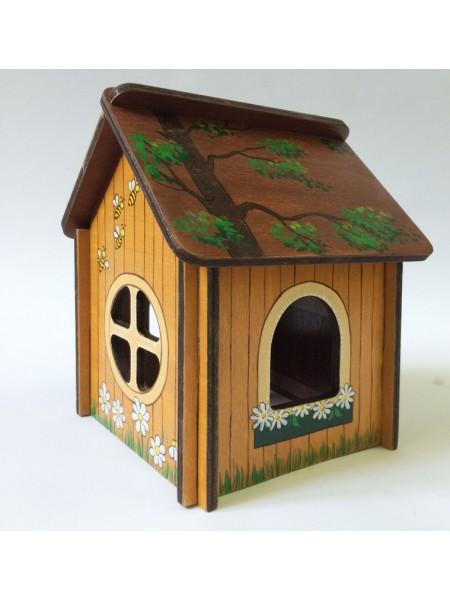 Конструктор из дерева лесной домик