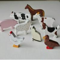 Набор домашних животных 9 шт.