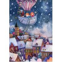 Деревянный пазл Рождественские истории