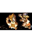"""Деревянный пазл """"Счастливые коты"""" 50 деталей"""