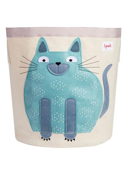 Корзина для хранения игрушек Кот