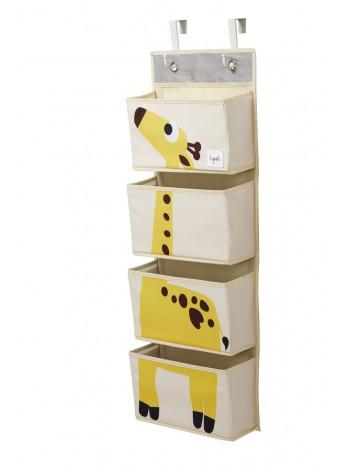 """Детский органайзер на стену """"Жираф"""""""