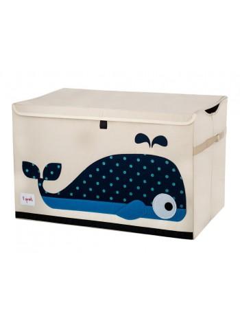 """Сундук для хранения игрушек """"Кит"""" 38x61x37 см."""