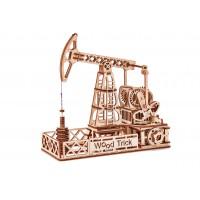 Механический 3D-пазл из дерева Нефтяная Вышка
