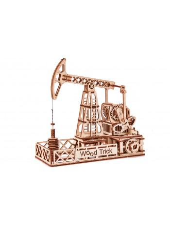 """Движущийся механический 3D-пазл из дерева """"Нефтяная Вышка"""""""