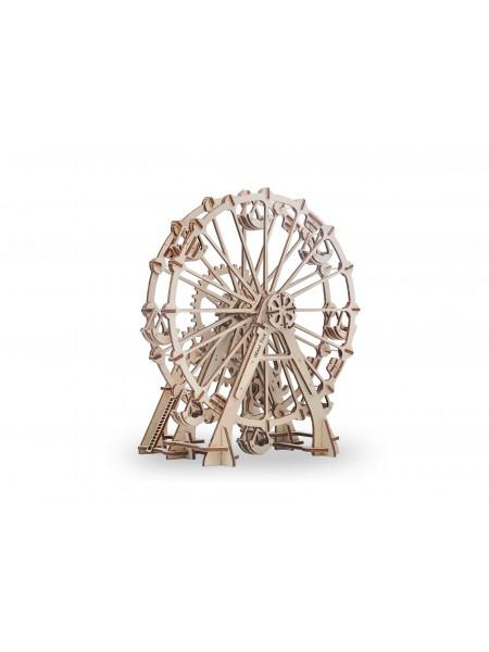 Механический 3D-пазл из дерева Колесо Обозрения