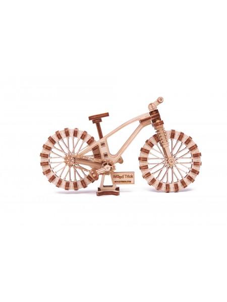 3D-пазл из дерева Вудик Мини велосипед