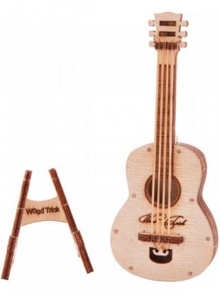 3D-пазл из дерева Вудик Гитара