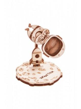 3D-пазл из дерева Вудик Космонавт