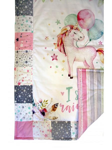 Лоскутное одеяло Звёздная единорожка