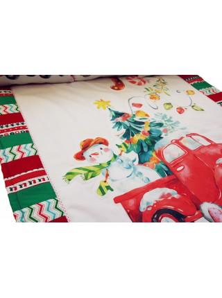Лоскутное одеяло Новогоднее