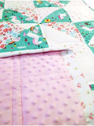 Лоскутное одеяло Весенний луг