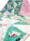"""Лоскутное одеяло """"Весенний луг"""""""